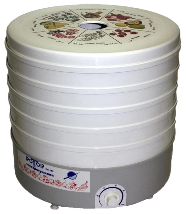 Сушилка для овощей и фруктов Rotor СШ-002-06 (5 поддонов)