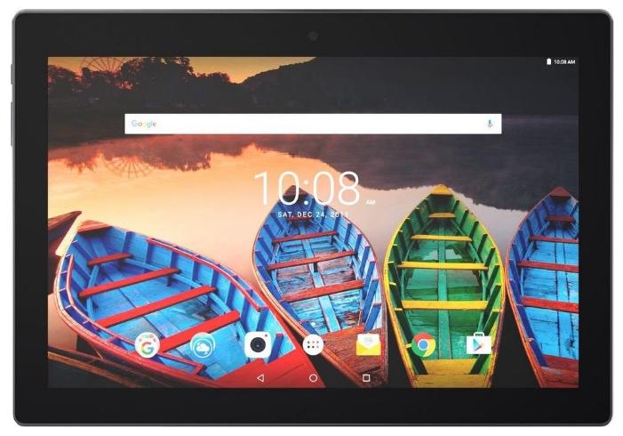 Планшет Lenovo Tab3 10 Plus, TB3-X70L, 16Gb (10,1'' FullHD, 2Gb, 2x microSIM, 8+5 Мп, 3G+LTE+Wi-Fi+Bluetooth), тёмно-синий ZA0Y0058RU