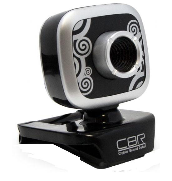 Web-камера CBR CW 835M, серебристая CW 835M Silver