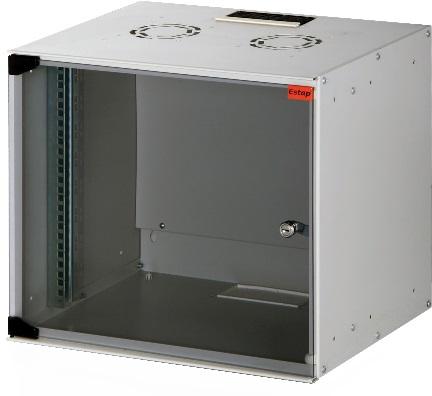 Телекоммуникационный шкаф Estap SOHOline 19 (9U 520x400), Серый SOHO9U40G