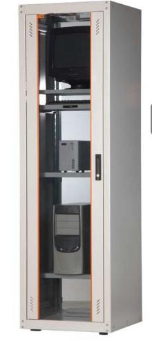 Телекоммуникационный шкаф Estap ECOline Server 19 ECO42U61GF1R1, серый