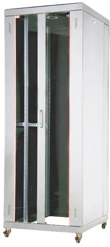 """Телекоммуникационный шкаф Estap EUROline EU32U88GF1R2 (19"""", 32U, 800x800 мм), серый"""