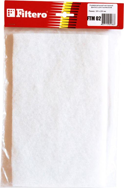 Фильтр для пылесоса Filtero FTM 02 предмоторный, универсальный