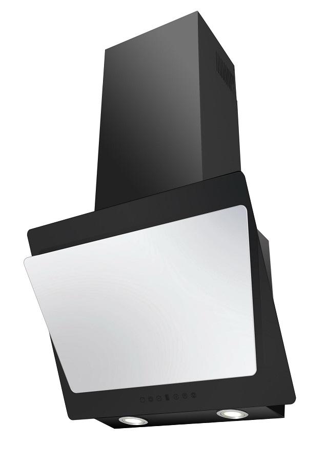 Вытяжка Korting KHC 67070 GWN, бело-черная