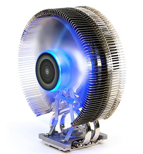 Кулер Zalman CNPS9800 MAX (синяя подсветка, 2011, 115x, 775, FMx, AMx) CNPS9800MAX