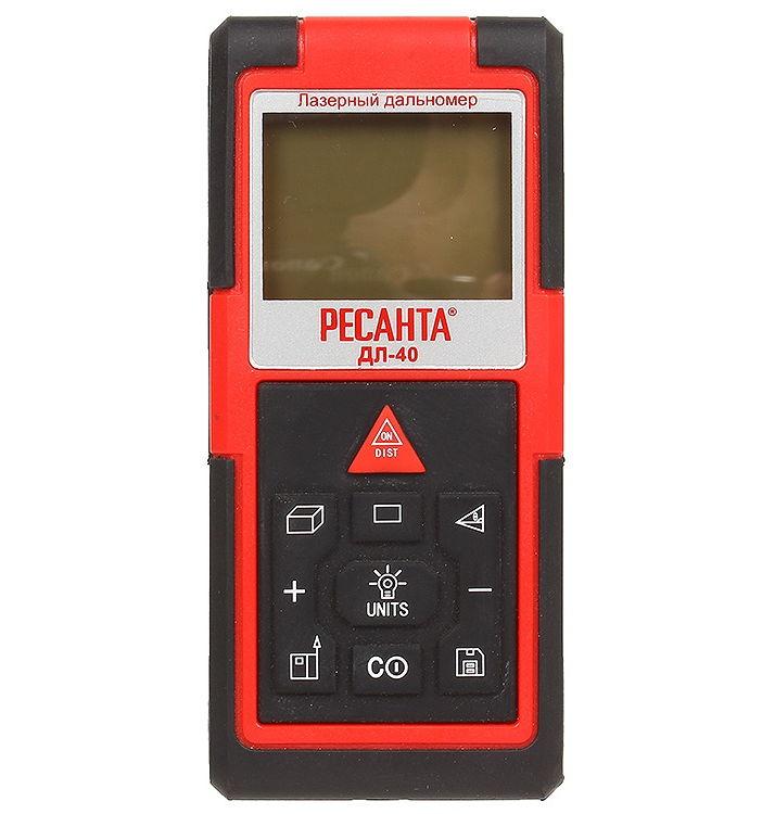 Дальномер Resanta ДЛ-40, лазерный, 0.5-40 м 61/10/515