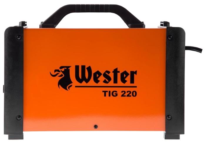 Сварочный аппарат TIG 220 (инверторный) Wester TIG 220