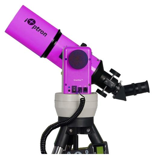 Телескоп iOptron SmartStar-R80 with GPS, фиолетовый SmartStar-G-R80 Pulsar Purple