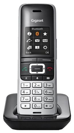 Радиотелефон Gigaset S850H (дополнительная трубка), серебристая S850HX