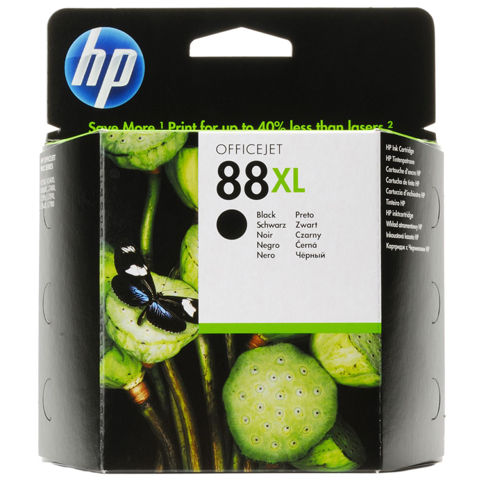 Картридж HP C9396AE, черный (№88XL)