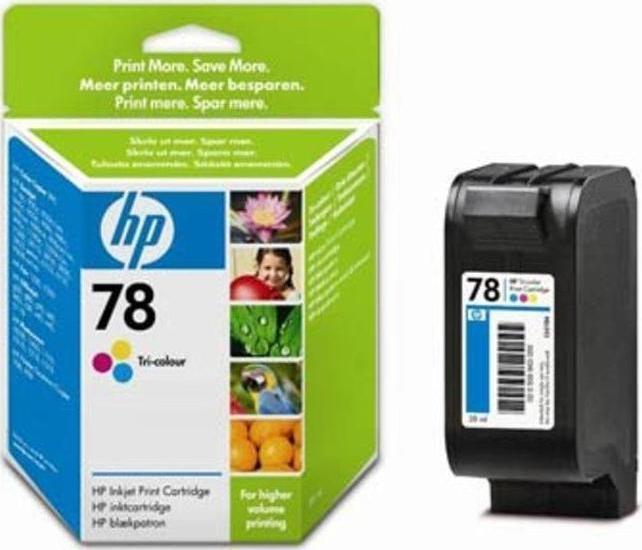 Картридж HP C1823DE №23, трехцветный