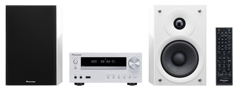 Музыкальный центр Pioneer X-HM51-W, белый