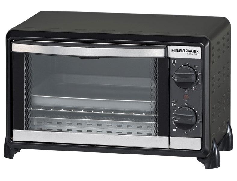 Мини-печь, ростер Rommelsbacher BG 950, черная