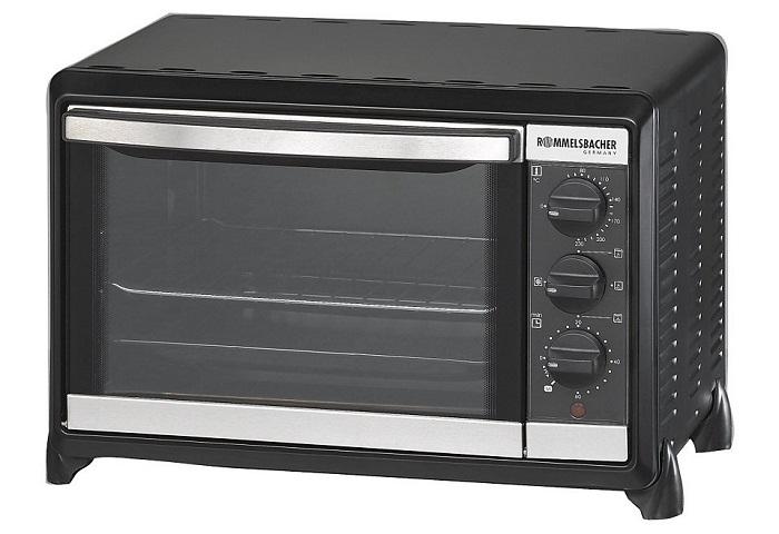 Мини-печь, ростер Rommelsbacher BG 1050, черный