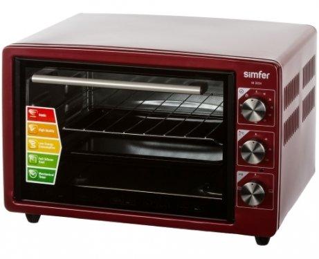 Мини-печь, ростер Simfer M3224, красная M3224 Red