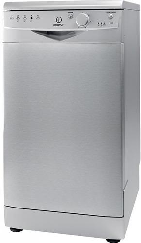 Посудомоечная машина Indesit DSR 15B S EU серебристая