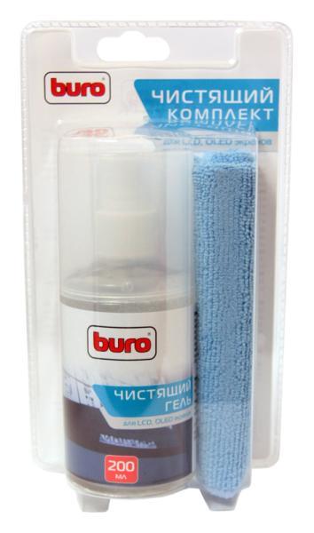 Чистящая принадлежность для ноутбука BURO BU-Glcd (салфетка и гель)