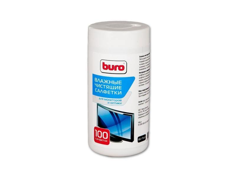 Чистящая принадлежность для ноутбука BURO BU-Tscrl Влажные салфетки