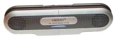 Компьютерная акустика Orient MX-01, серебристо-черная