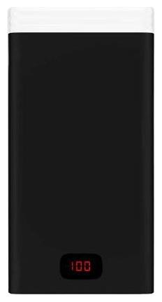 Аксессуар для телефона Irbis Мобильный аккумулятор PB1C50 (19200 mAh), черный