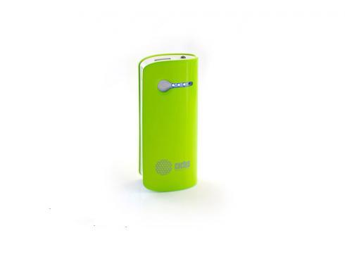 Аксессуар для телефона CACTUS Мобильный аккумулятор CS-PBX2-5200GW 5200 мAч, зеленый/белый