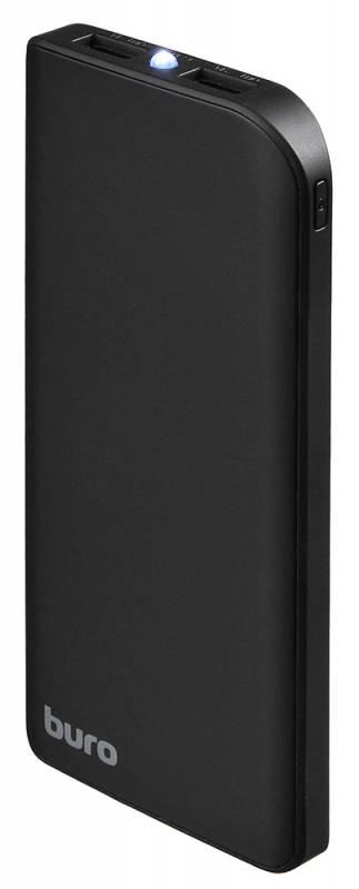 Аксессуар для телефона BURO Мобильный аккумулятор RA-8000 (8000 mAh), черный RA-8000-BK