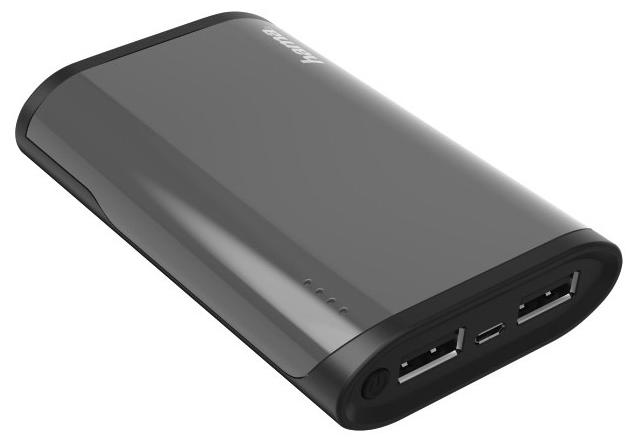 Аксессуар для телефона HAMA Мобильный аккумулятор Fuel Up 6000mAh, черный 137499