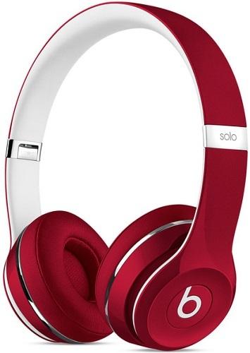 Beats Solo 2 Luxe Edition, красные