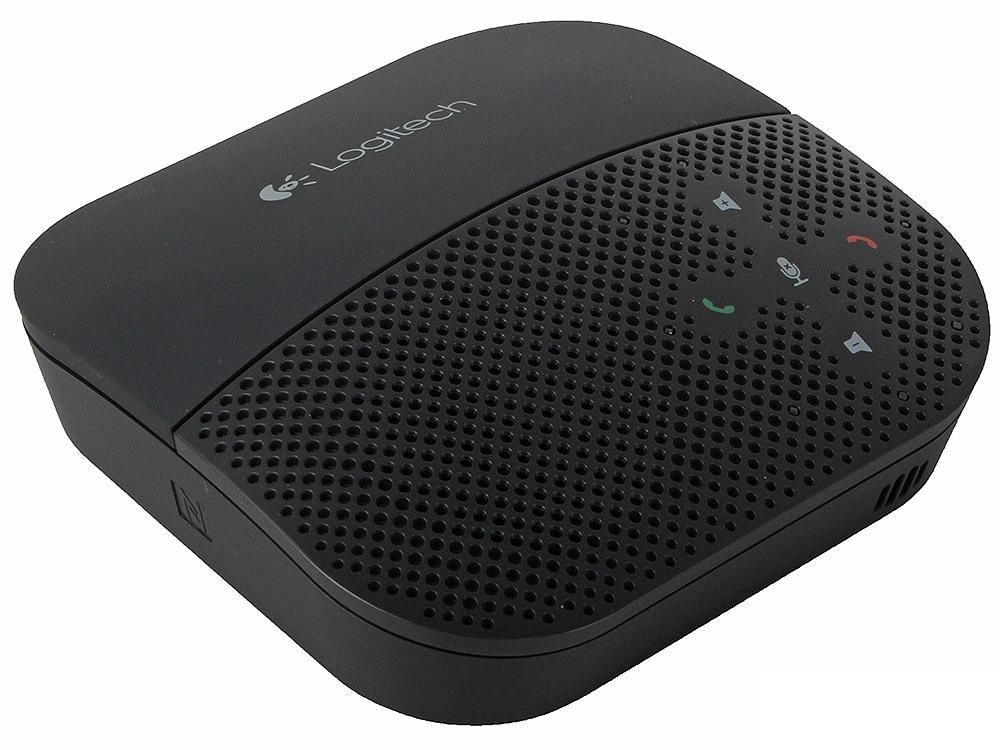 Портативная акустика Logitech P710E Mobile Speakerphone черная 980-000742