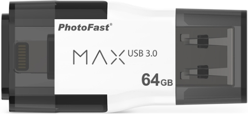 Usb-флешка PhotoFast i-FlashDrive MAX U3 64GB (для Apple) IFDMAXG264GB