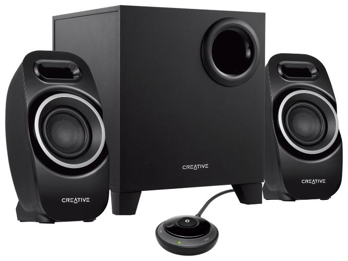 Компьютерная акустика Creative T3250 Wireless, черная 51MF0450AA000