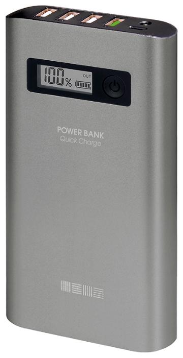 Аксессуар для телефона InterStep Внешний аккумулятор PB15000QC4U (15000 мАч) IS-AK-PB15AQC4U-000B201