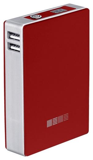 InterStep Внешний аккумулятор PB120002U (12000 мАч), красный