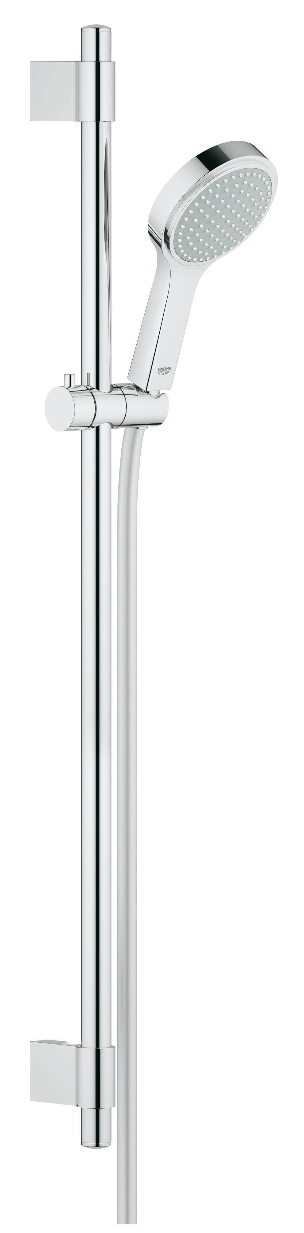 Душевой гарнитур Grohe 27755000 Power&Soul Cosmopolitan 115 (ручной душ, штанга 900 мм, шланг 1750 мм), хром