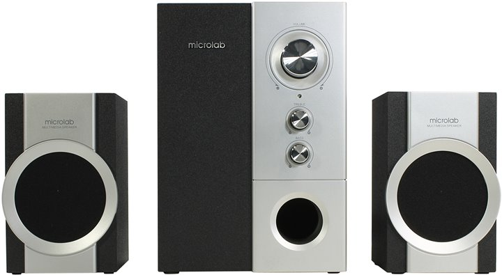 Компьютерная акустика Microlab M-520, черная M-520 чёрный