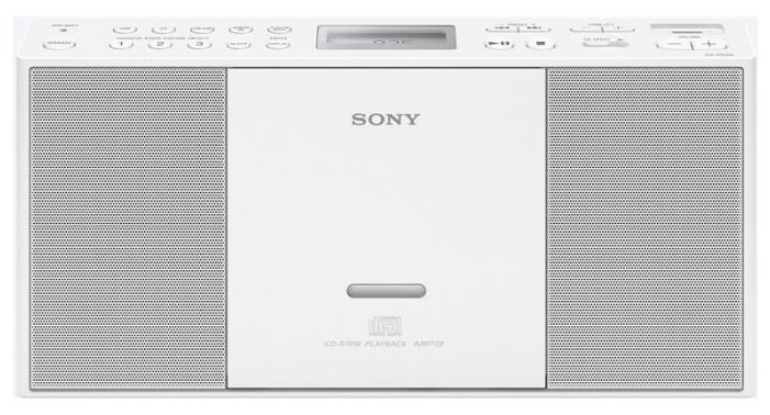 Магнитола SONY ZS-PE60/WC, белая