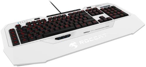 Клавиатура ROCCAT Isku FX (игровая, мембранная), белая ROC-12-931