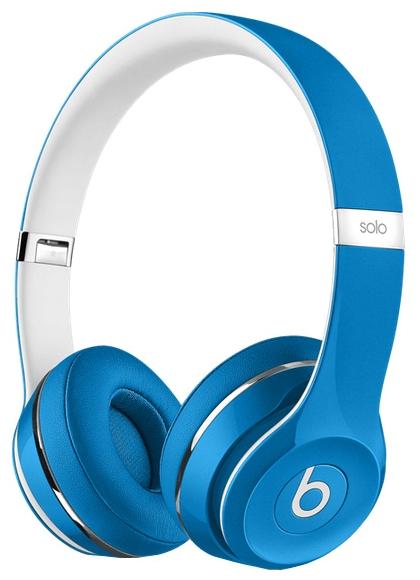 Beats Solo 2 Luxe Edition, Голубые