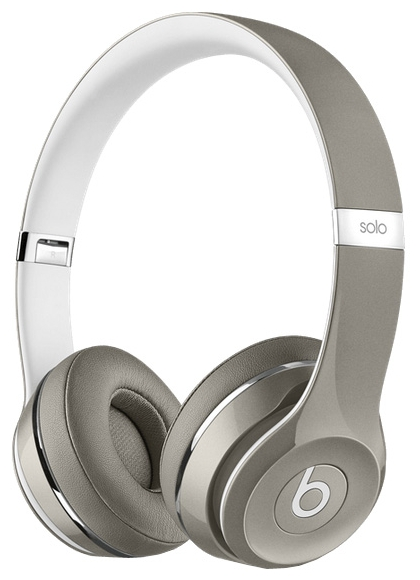 Beats Solo 2 Luxe Edition, Серые