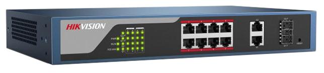 Коммутатор (switch) Hikvision DS-3E1310P-E (управляемый)
