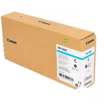 Картридж Canon PFI-703 C, голубой 2964B001