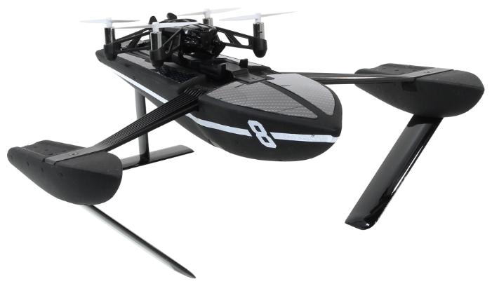 Квадрокоптер Parrot Minidrone Hydrofoil Orak, чёрный PF723403
