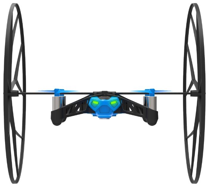 Квадрокоптер Parrot Rolling Spider, синий PF723007