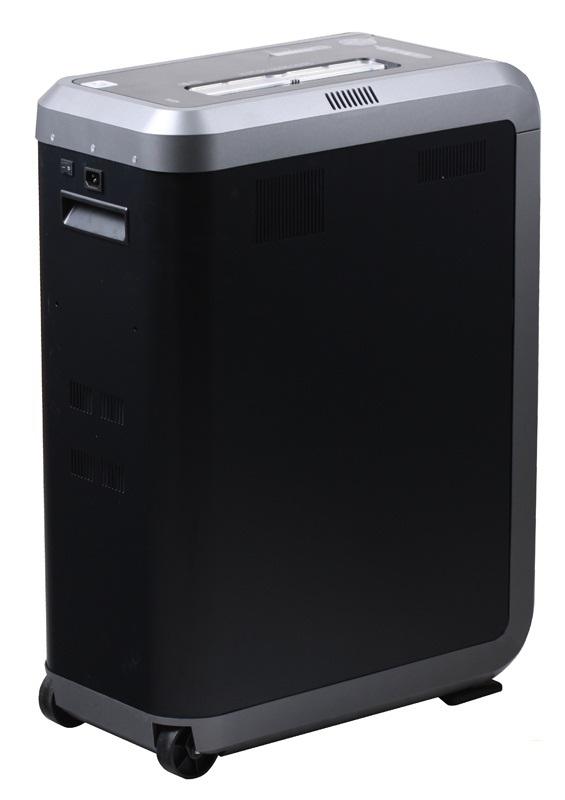 Уничтожитель бумаг Fellowes PowerShred 125I черный FS-4613001