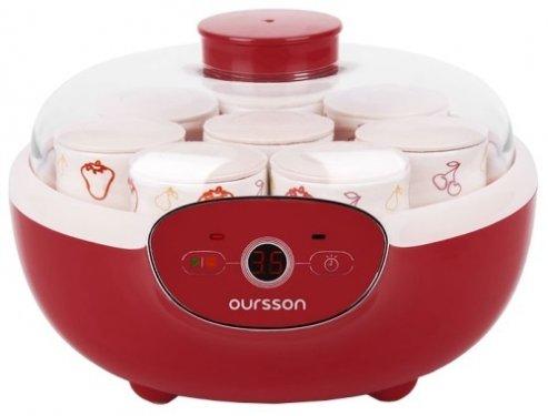 Йогуртница Oursson FE1105D/RD, красная
