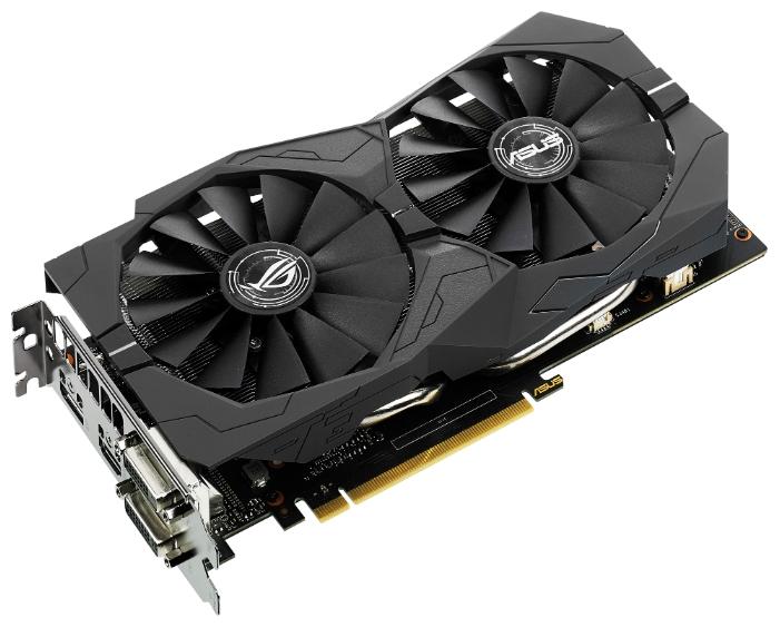 Видеокарта GeForce ASUS GTX 1050 Ti 1379Mhz PCI-E 3.0 4096Mb 7008Mhz 128 bit 2xDVI HDMI HDCP Strix OC Gaming STRIX-GTX1050TI-O4G-GAMING