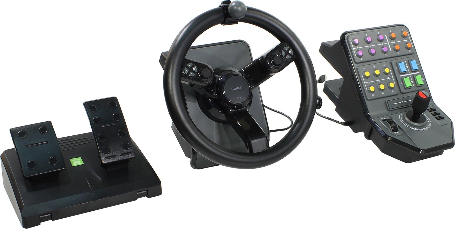 Игровое устройство Mad-Catz Руль (Saitek) Farming Simulator 15 SCB432160002/01/1