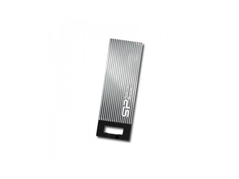 Usb-флешка Silicon-Power Touch 835 4Gb, серая SP004GBUF2835V1T