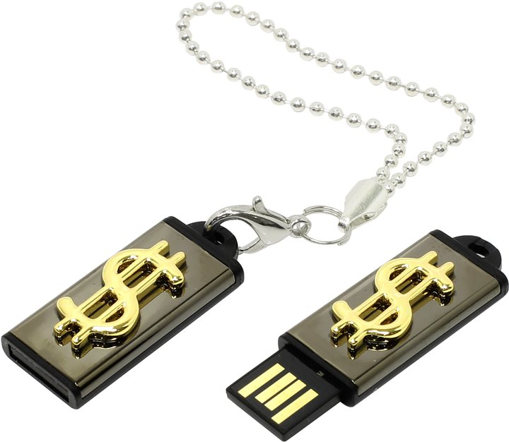 Usb-флешка Iconik MTF-Dollar (8 Gb, USB 2.0) MTF-DOLLAR-8GB
