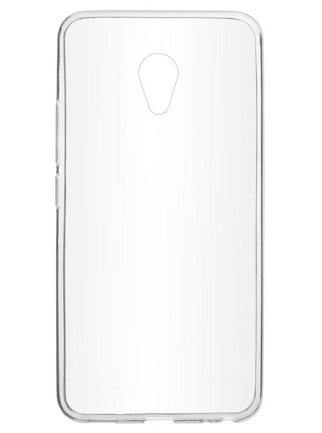 SkinBox 4Piople Slim T-S-MM5N-005, для Meizu M5 Note, бесцветный прозрачный